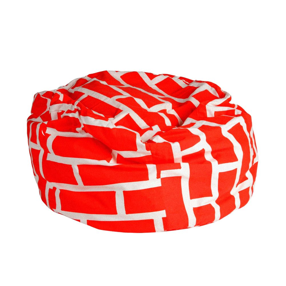 Bean Bag Red Brick