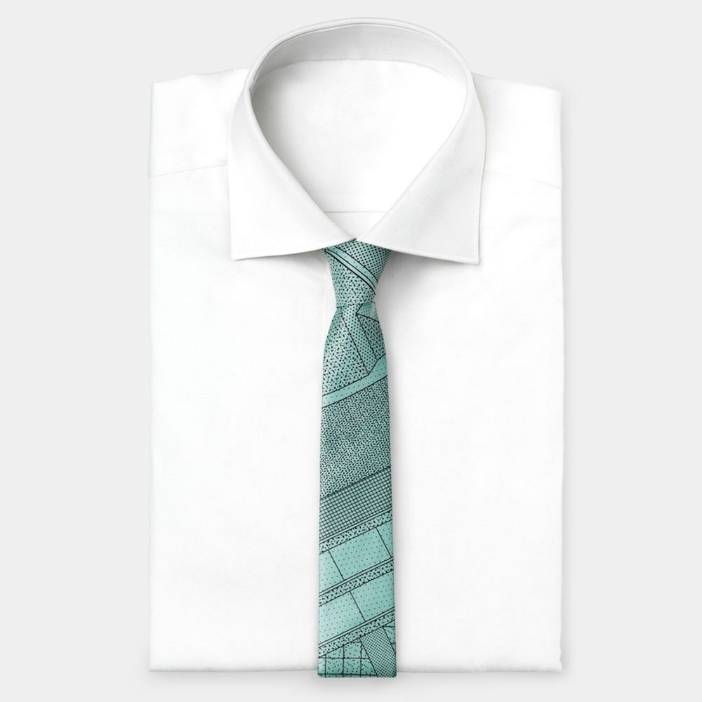 Tie Light Blue