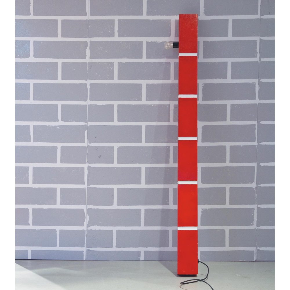 The Red Brick Lamp n°1