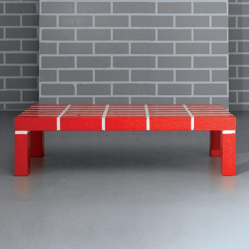 The Red Brick Table n°1