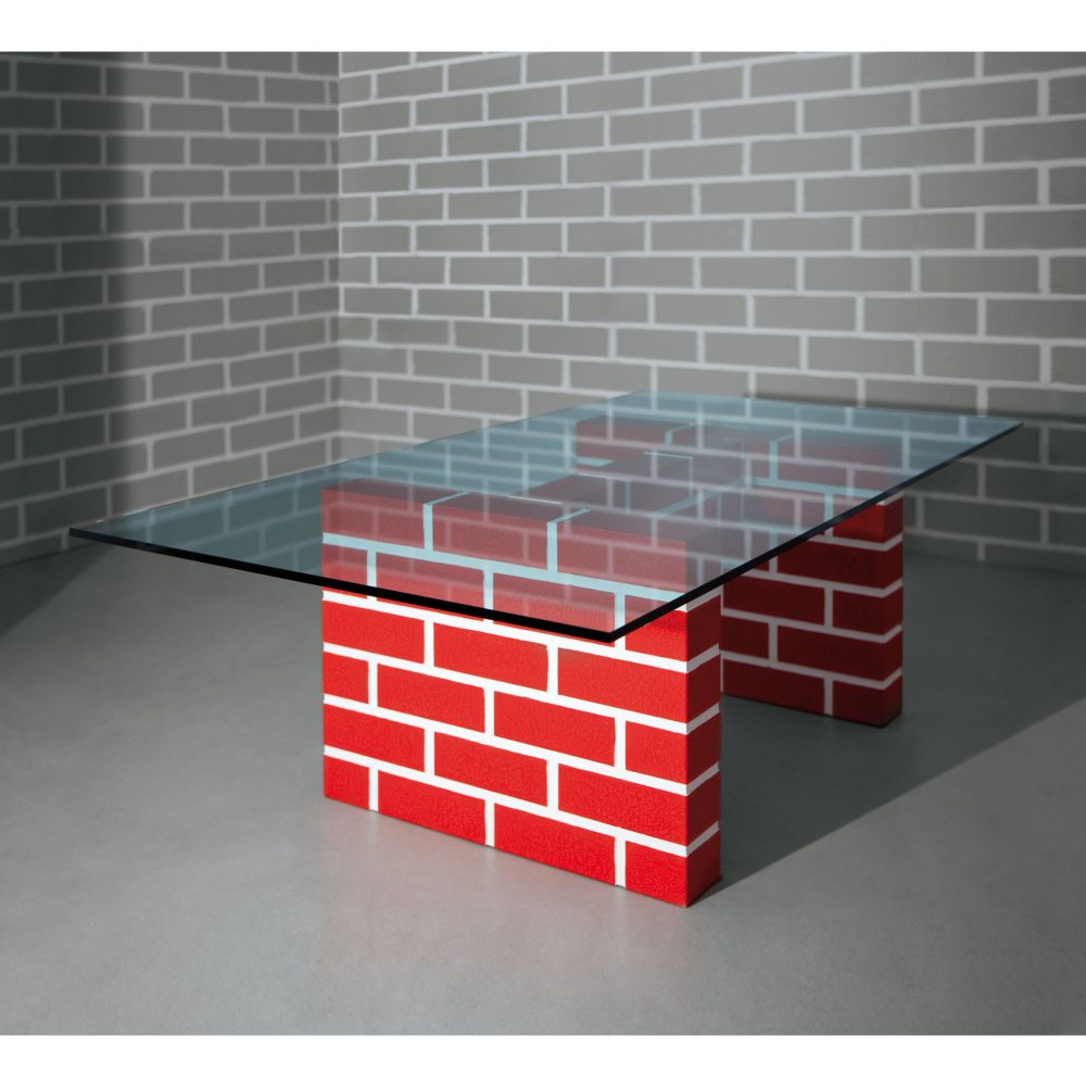 The Red Brick Table n°2