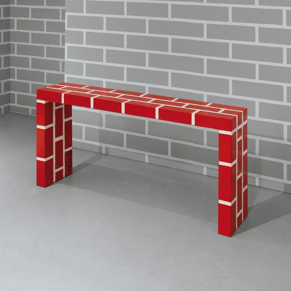 The Red Brick Table n°5