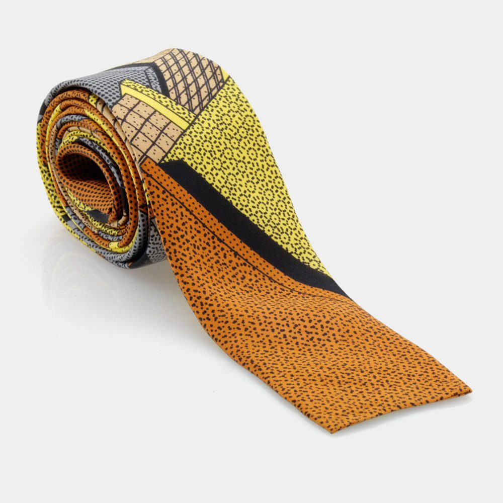 Tie Yellow-Brown