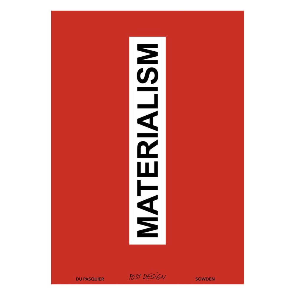 """Materialism"" Catalogue"